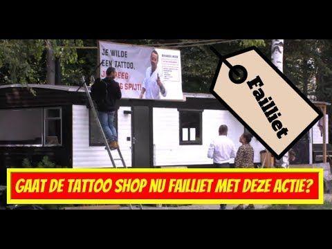 Onwijs Gaat de Tattoo shop nu failliet met deze actie - Utopia Nieuws ✅ TX-22