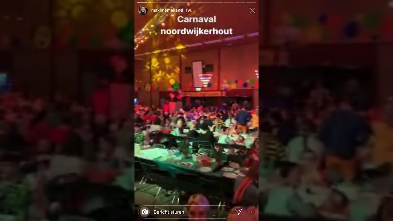 Martien En Maxime Meiland Vieren Carnaval